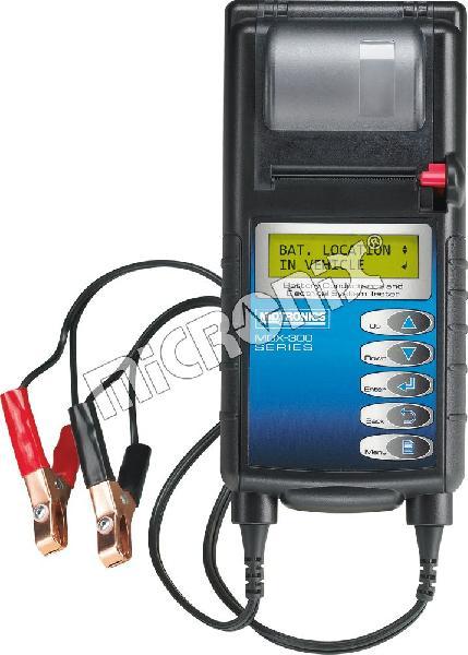 MDX-335P akkumulátor és töltési rendszer ellenőrző műszer nyomtatóval