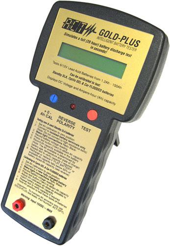 ACT IBT 6/12V Gold-Plus - Kapacitás mérése