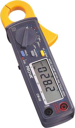 Prova CM-02 - Lakatfogós multiméter