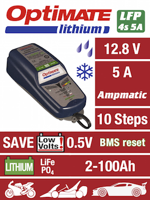 Tecmate OptiMate Lithium 4S 5A