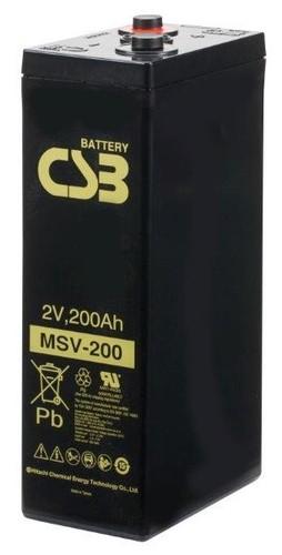 CSB MSV200 2V 200Ah