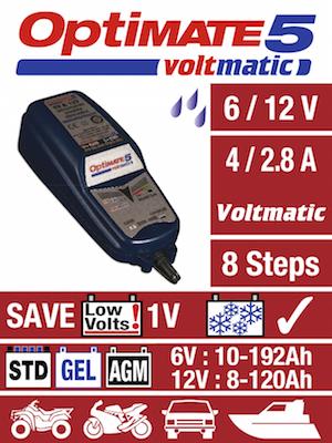 Tecmate Optimate 5 Voltmatic