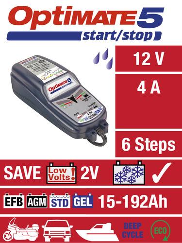OptiMate 5 Start-Stop