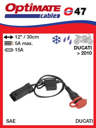 O-47 Ducati csatlakozó