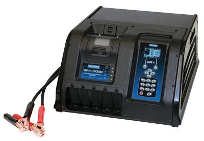 GRX-3000P munkaállomás nyomtatóval (töltő+teszter)