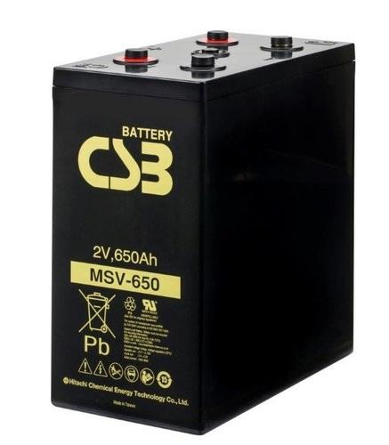CSB MSV650 2V 650Ah